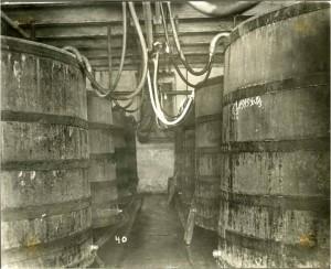 Schmidt brewery - oaken barrels