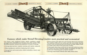 J.D. Adams Stroud Elevating Grader