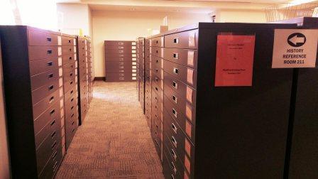 microfilm cabinets