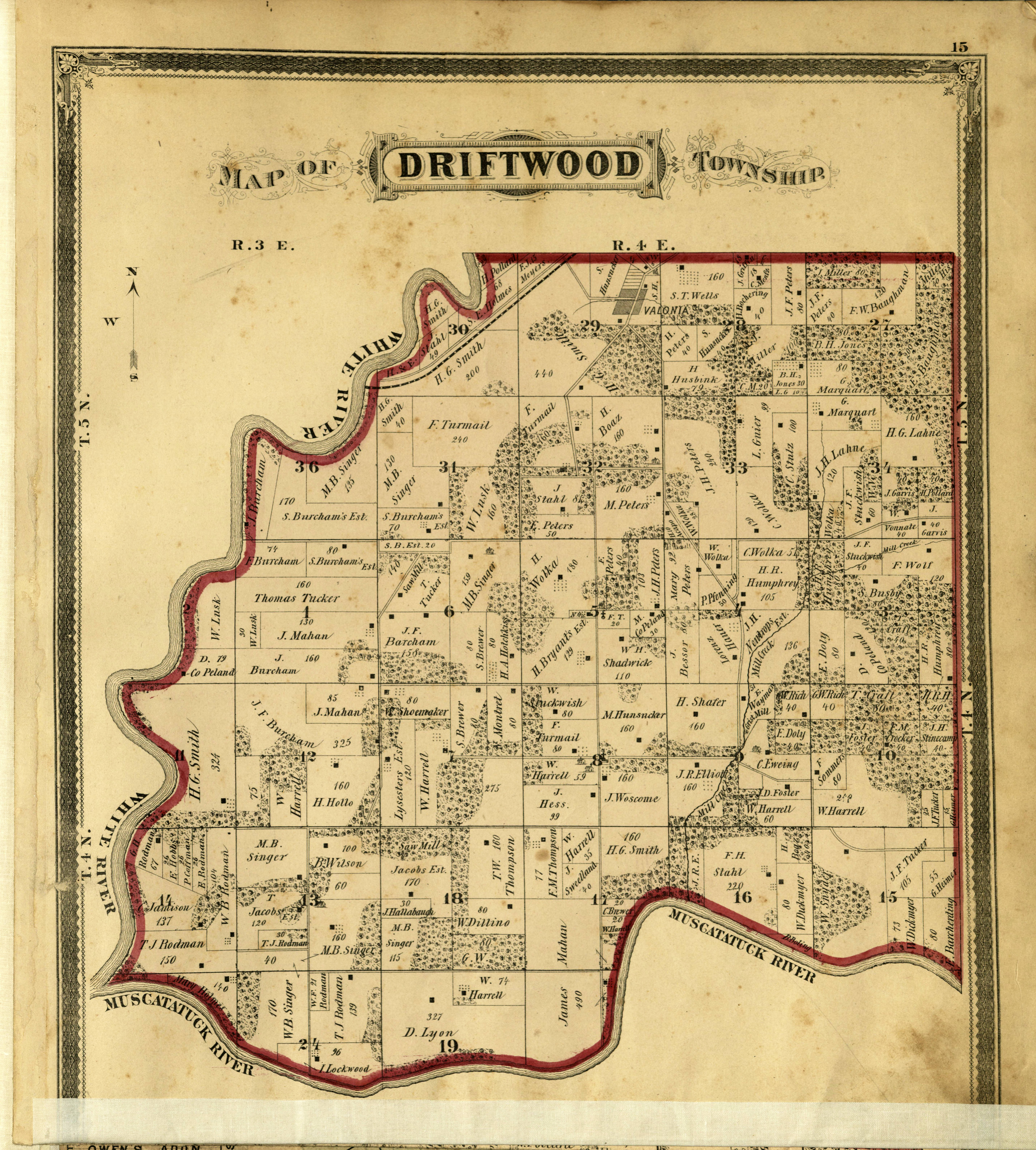 Using maps online | Indiana State Library