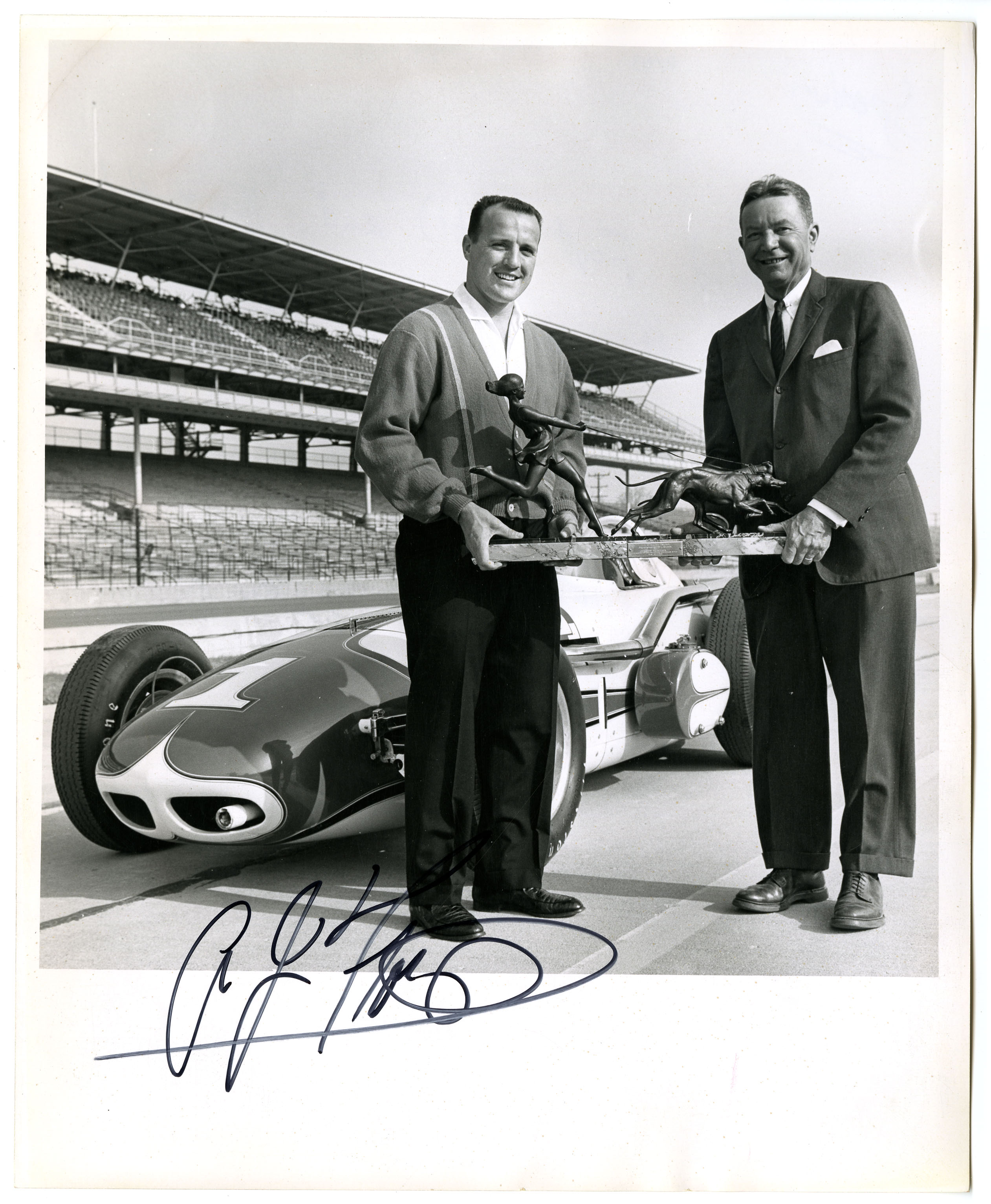 Foyt and Holman